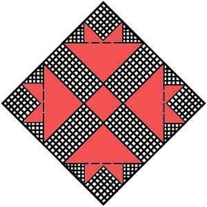 Cross and Crown Quilt Pattern