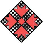 Cross and Crown Quilt Block Pattern