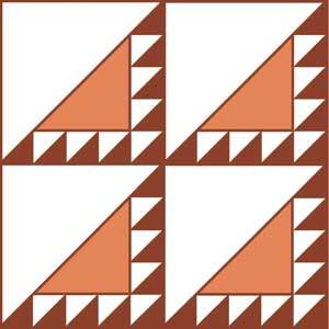 Lend and Borrow Quilt Block Pattern