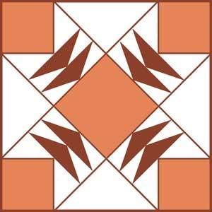 Ozark Trail Quilt Block Pattern