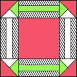 Double Arrow Quilt Block Pattern