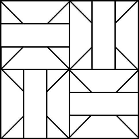 photograph regarding Printable Quilt known as Traveler Quilt Block Habit - Printable Quilt Block