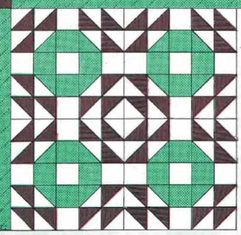 Crown Of Thorns Block Pattern Freequilt Com