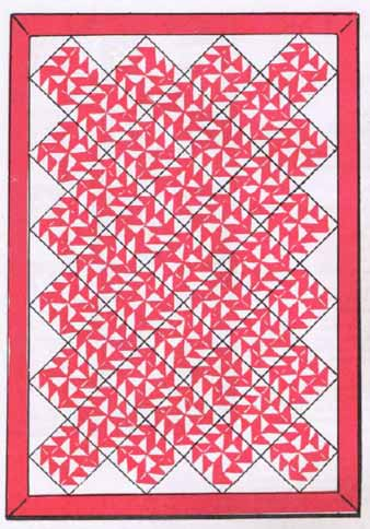 Yankee's Puzzle Quilt Pattern