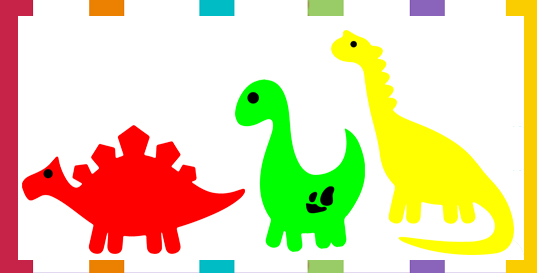 3 of the Cutest Dinosaur Outlines and Patterns - FreeQuilt.com