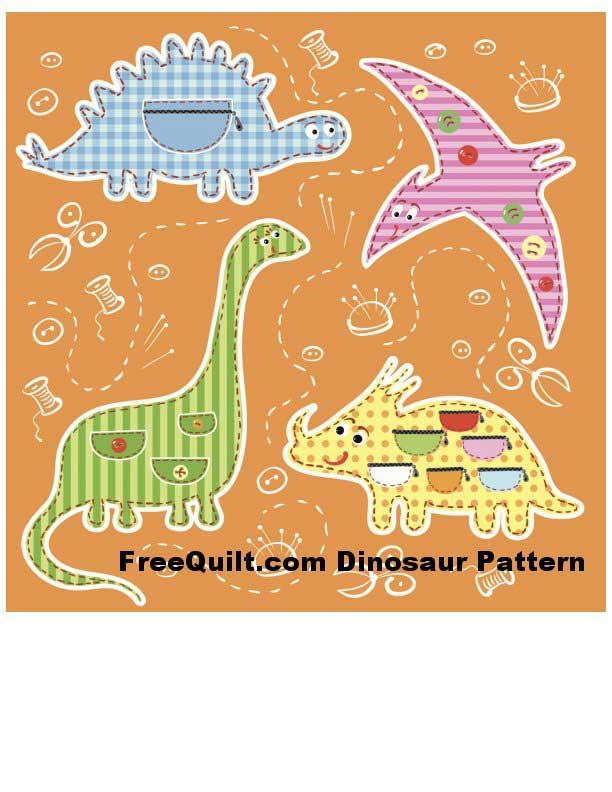 24 dinosaur silhouettes  outlines   7 dinosaur patterns