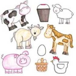 Farm Animals Quilt Patterns