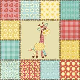 Giraffe Applique Pattern