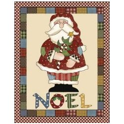 Santa Applique Pattern