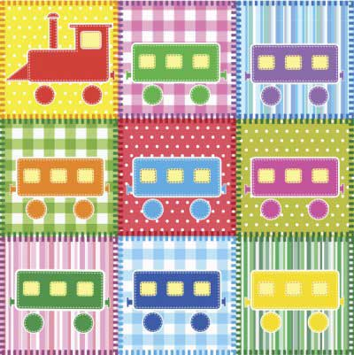 Train Quilt Patterns