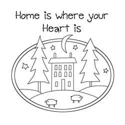 Home is Where Your Heart Is – Wall Hanging Quilt Pattern