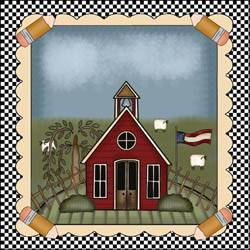 School House Quilt Block