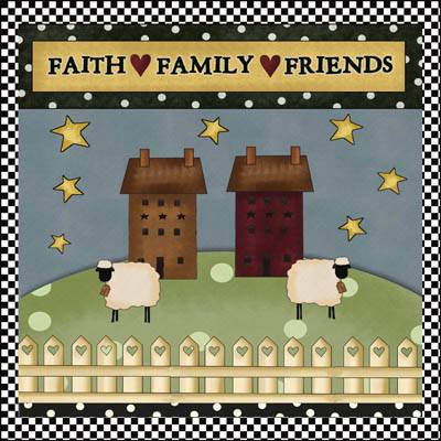 Faith Family Friends Quilt Pattern