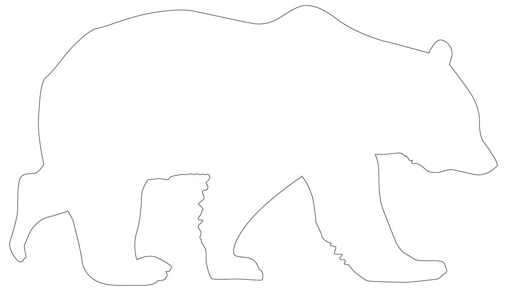 Bear Outline