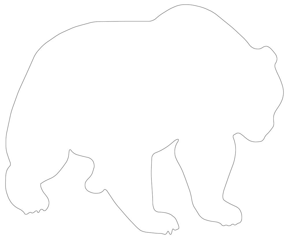 Big Bear Outline