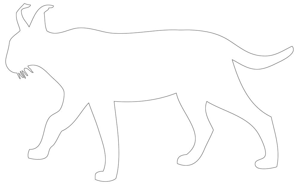 Cougar Outline