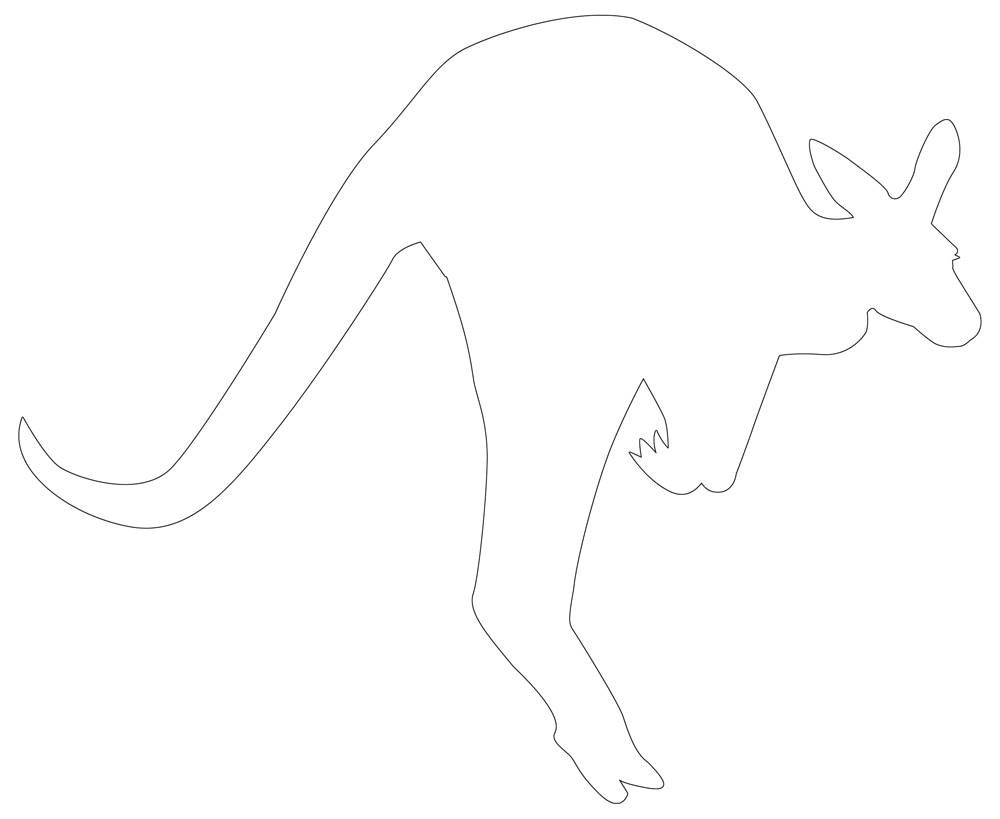 Zoo Animal Outlines 28 Outlines Of Printable Zoo Animals