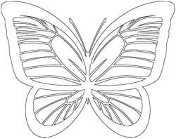 30 Butterfly Patterns, Outlines & Silhouettes