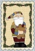 Quilted Santa Pattern