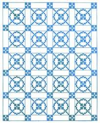 Coverlet Quilt Pattern - Traditional Quilt Patterns
