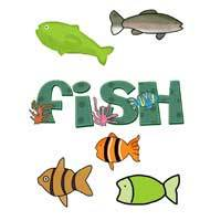 Fish Applique Templates