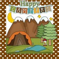 Happy Campers Pattern
