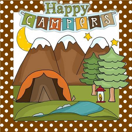 Happy Campers Applique Patterns