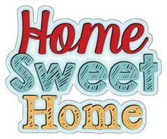 Words - Home Sweet Home