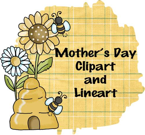 Mother's Day Clip Art and Line Art at FreeQuilt.com