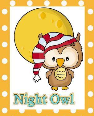 Night Owl Applique Pattern - Line Drawings for Owl ...