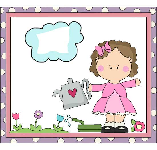 Mary Mary Quite Contrary Clipart