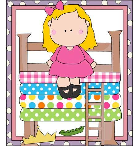 Princess and the Pea - Delightful Outline of Characters