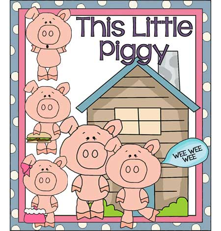 This Little Piggy Clipart