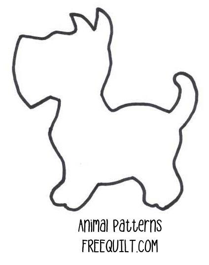 Free Scottie Dog Pattern