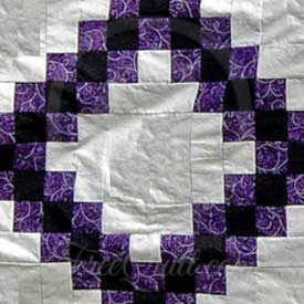 Chain of Squares Quilt Patterns