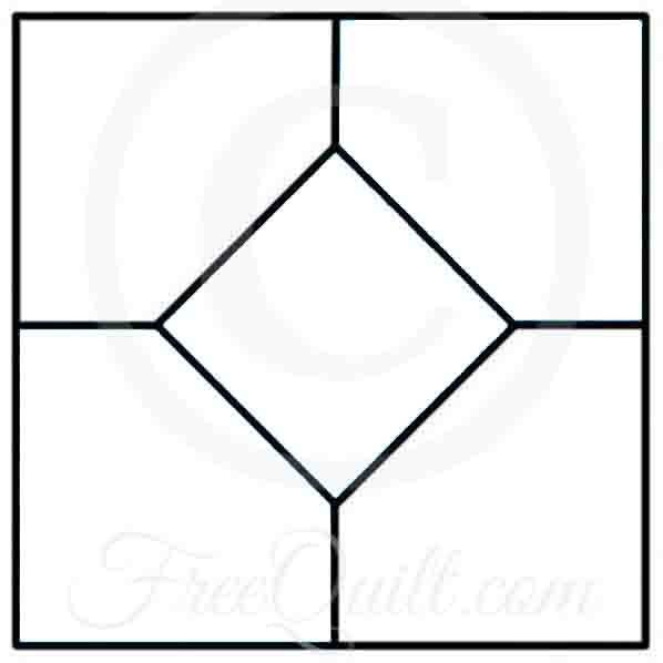 Bow Tie Quilt Block - Bow Tie Template for Quilt