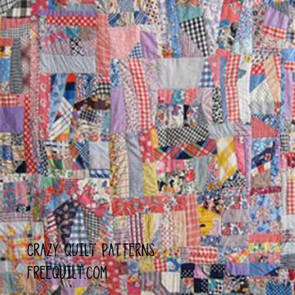 Crazy Quilt Patterns - Crazy Quilt Block Patterns