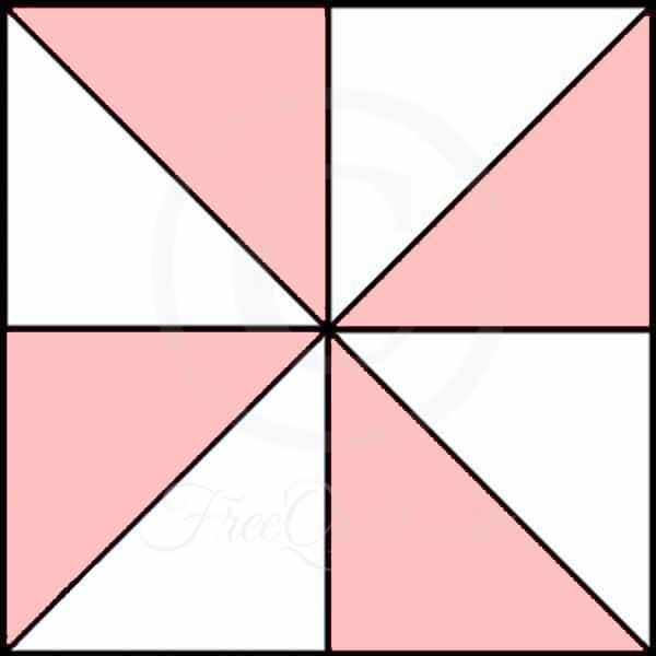 Pinwheel Quilt Patterns To Print