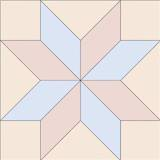 Eight Pointed Star Quilt Patterns