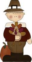 Thanksgiving Pilgrim Boy Pattern