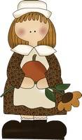 Thanksgiving Pilgrim Girl Pattern