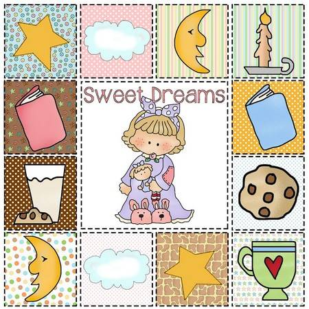 sweet dreams girl quilt