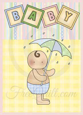 Baby Showers Pattern