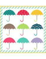 Just Umbrellas Quilt Pattern